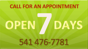 Grants Pass Dental Office Open 7 Days a Week